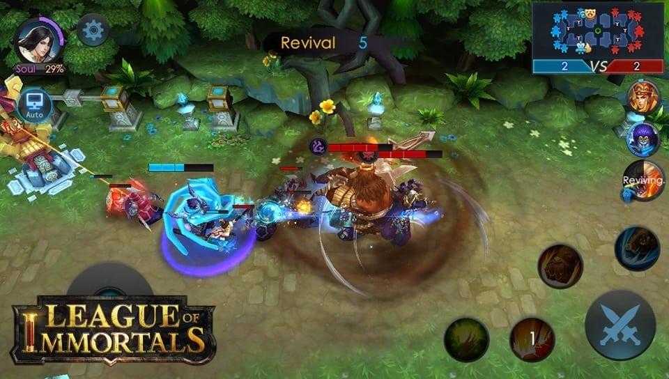 League of Immortals screenshot 2