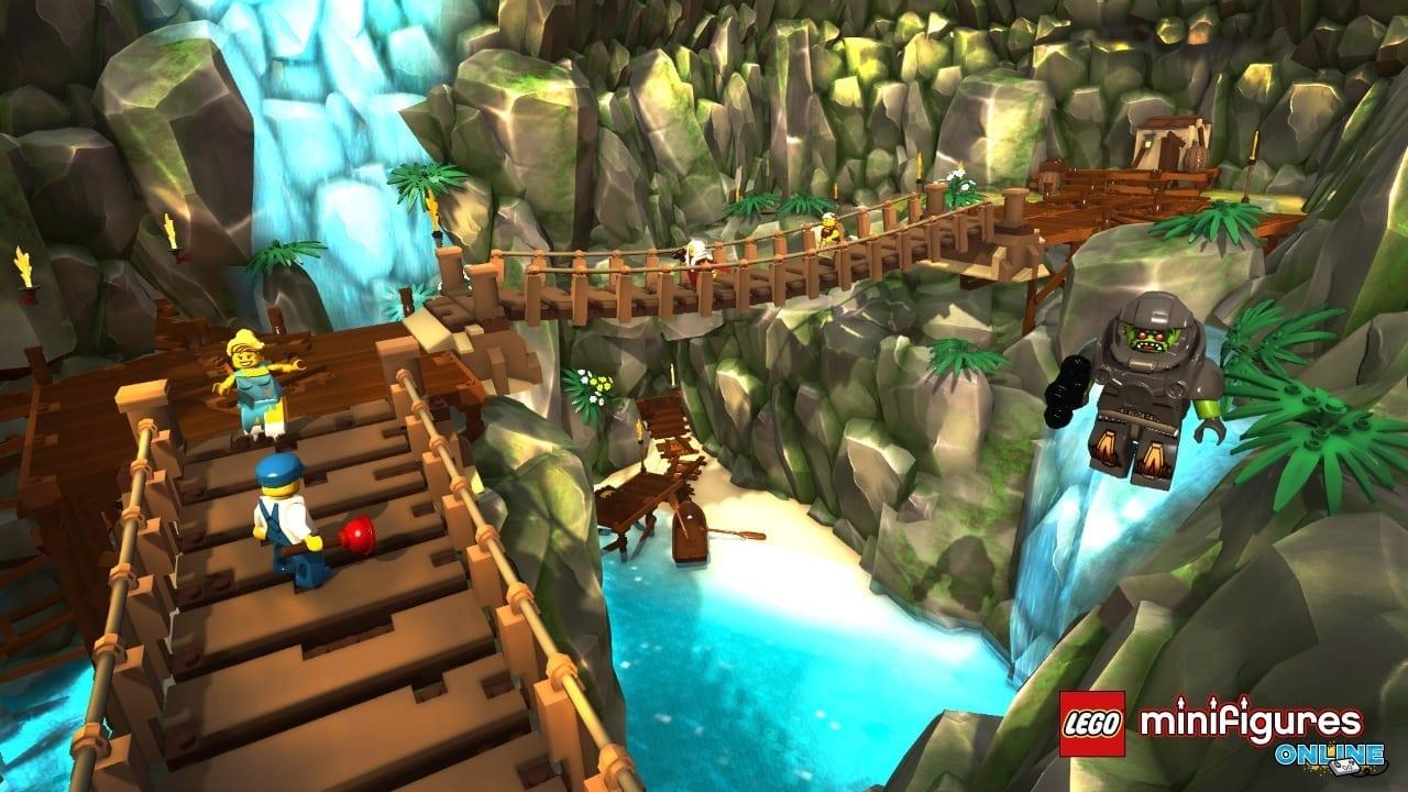Lego Minifigures Online screenshot