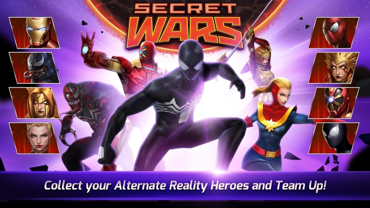 Marvel Future Fight - Secret Wars update screenshot 1