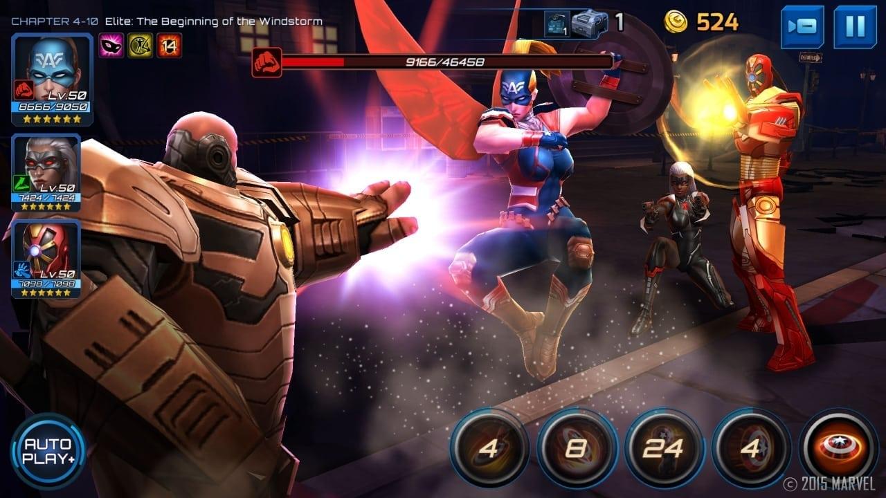 Marvel Future Fight - Secret Wars update screenshot 3