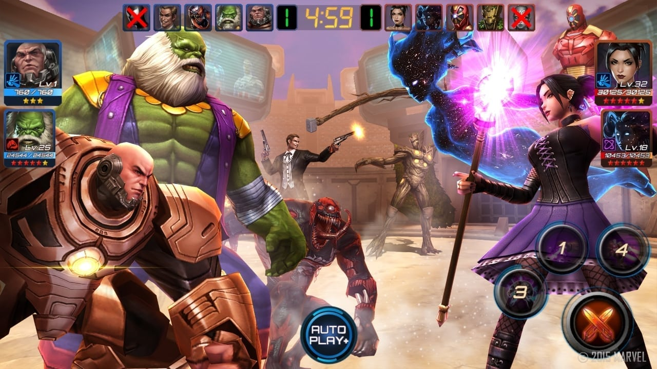 Marvel Future Fight - Secret Wars update screenshot 4
