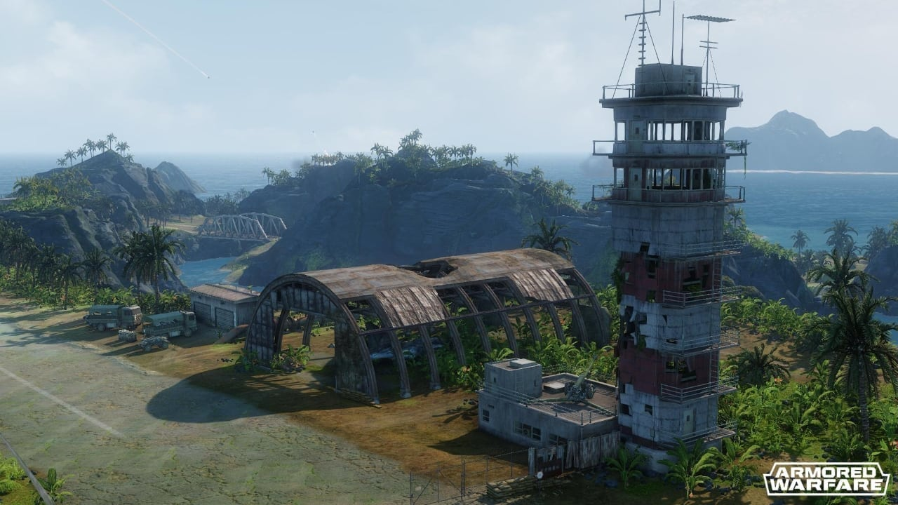 Armored Warfare - Lost Island screenshot 2