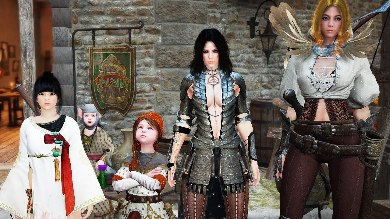 Black Desert - Female characters