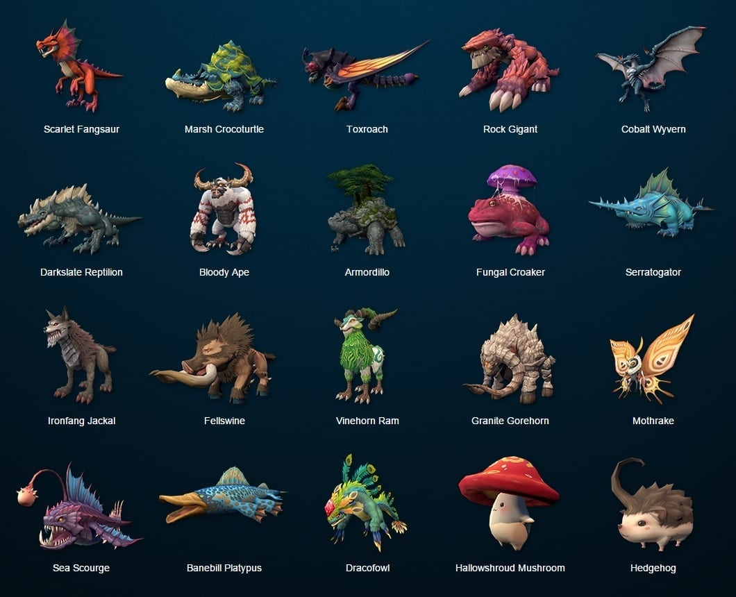 Dragomon Hunter monsters