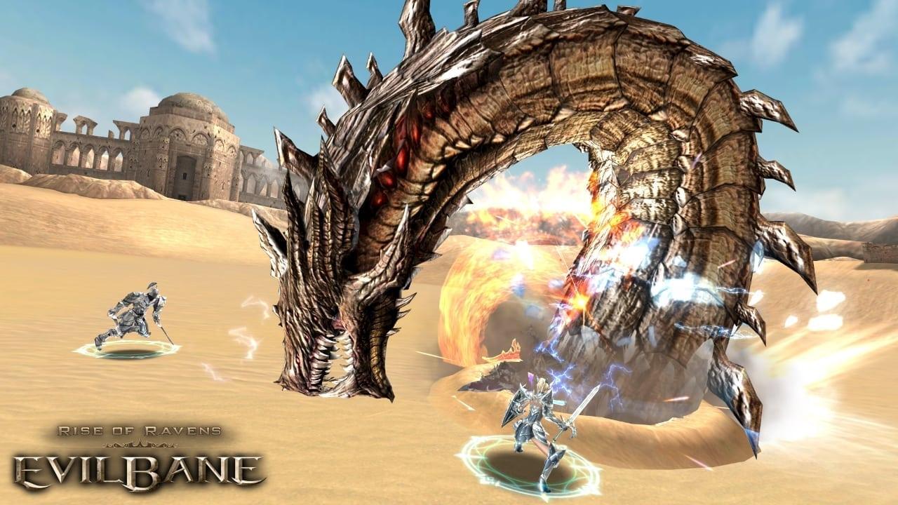 EvilBane - PVE raid screenshot