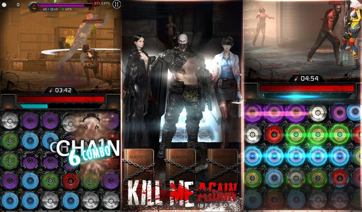 Kill Me Again – Mobile zombie puzzle RPG launches in over 100