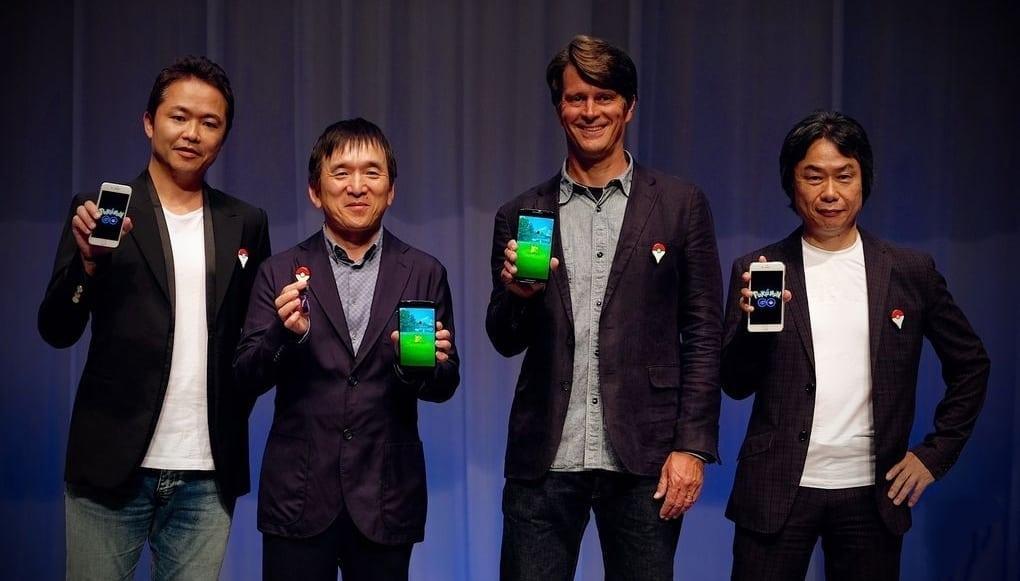 Pokémon GO - Press conference photo