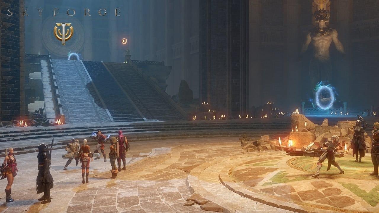 Skyforge - Hostile Territories screenshot 0