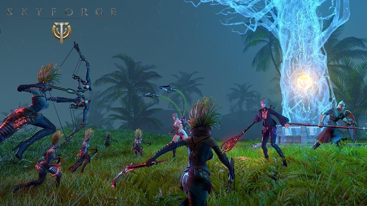 Skyforge - Hostile Territories screenshot 1