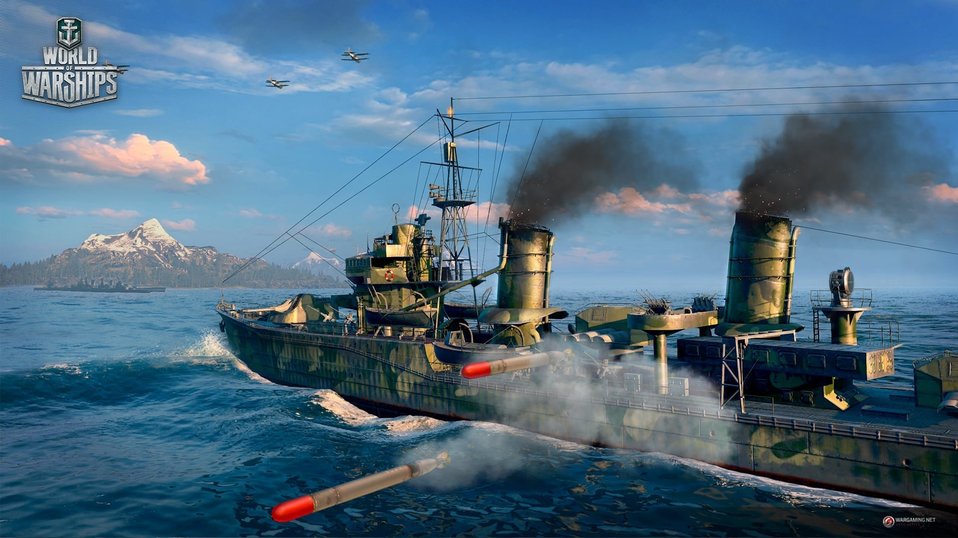World of Warships - Official launch preview screenshot