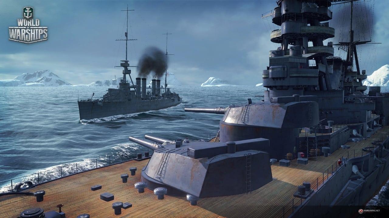 World of Warships launch screenshot 1