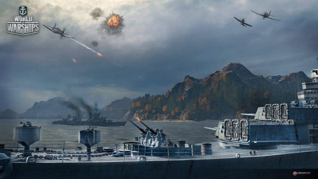 World of Warships launch screenshot 2