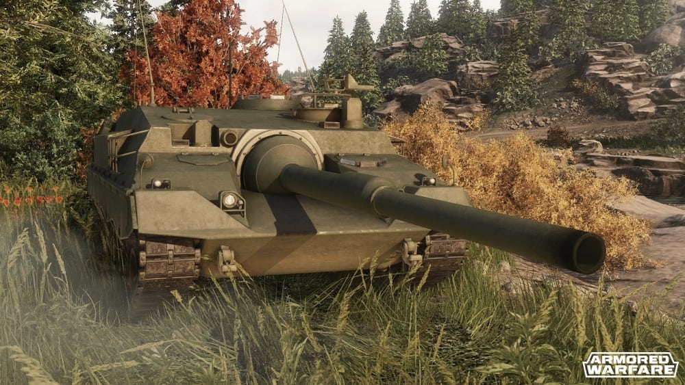Armored Warfare - Mowag Taifun II screenshot