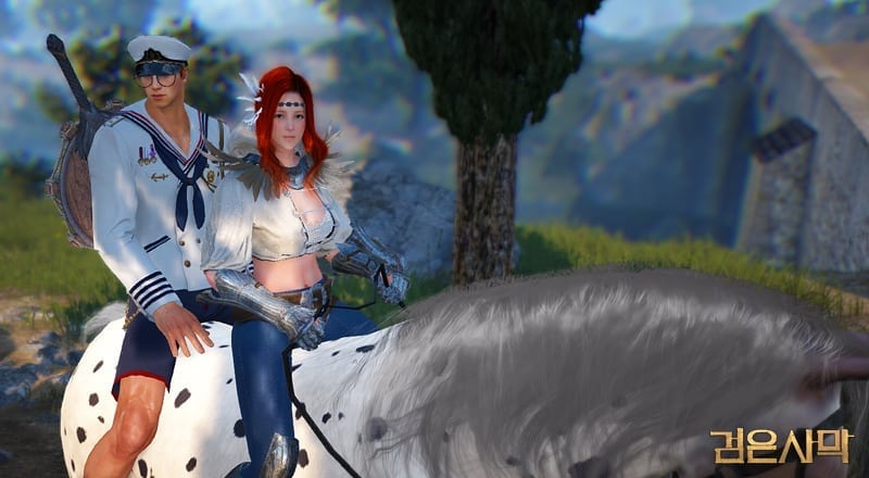 Black Desert - 2-player mount screenshot 1