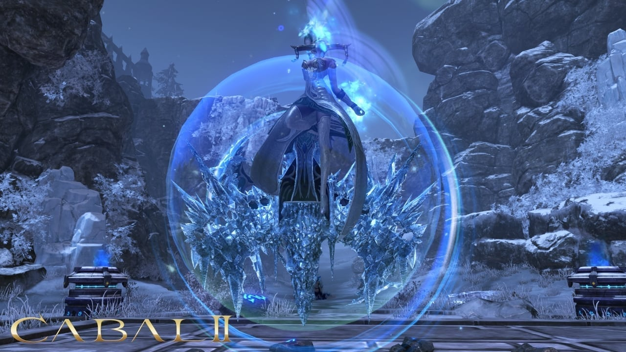 Cabal 2 - Ice Queen boss screenshot