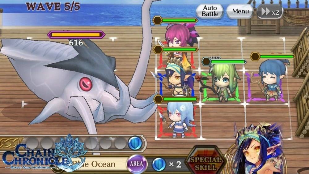 Chain Chronicle Brave New Continent screenshot 2