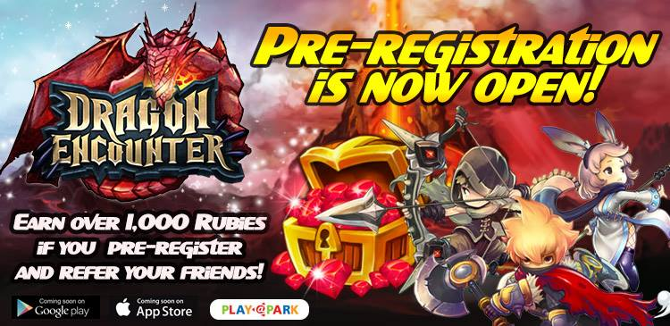 Dragon Encounter pre-register