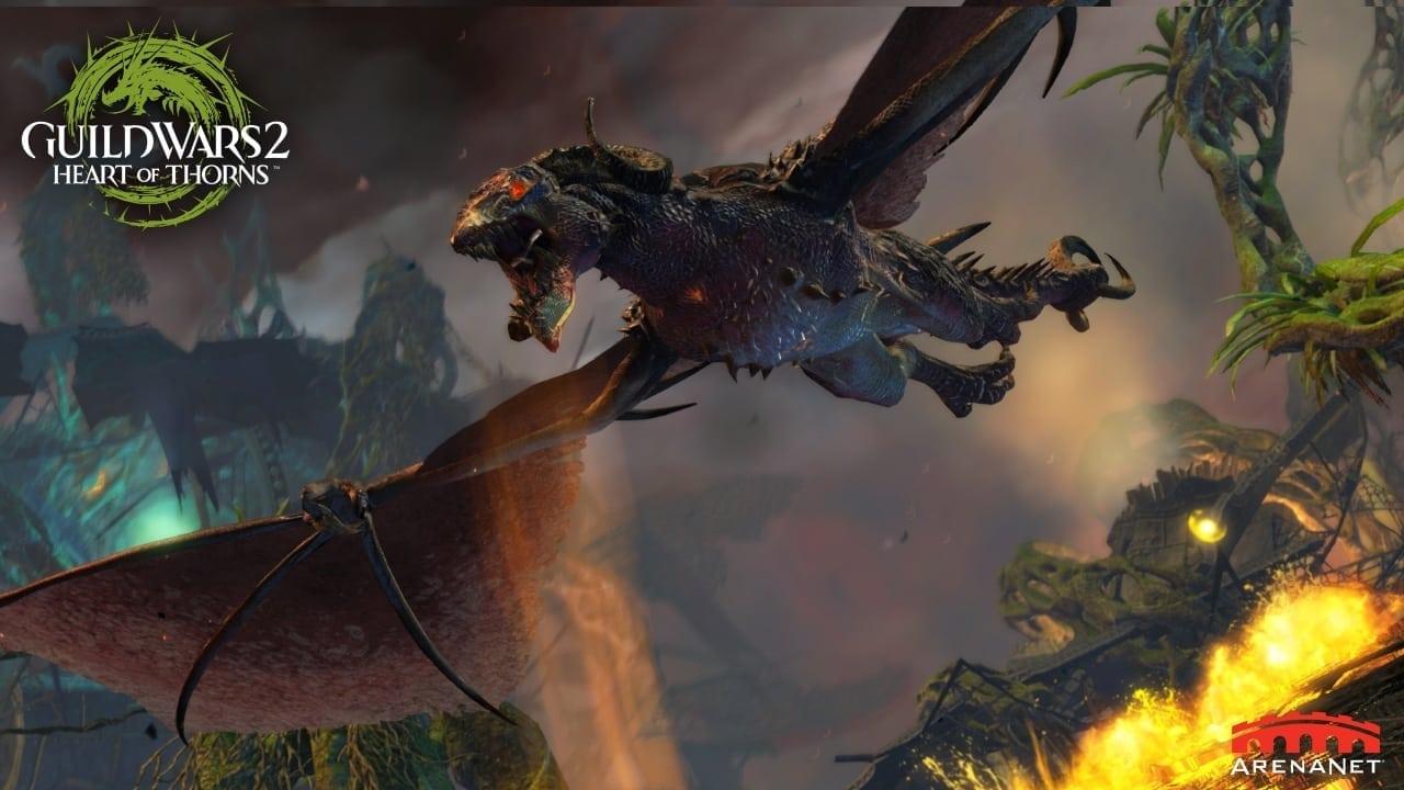 Guild Wars 2 Heart of Thorns screenshot 1
