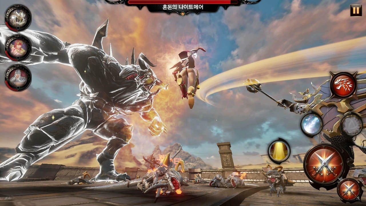 Heroes Genesis - Combat screenshot 1