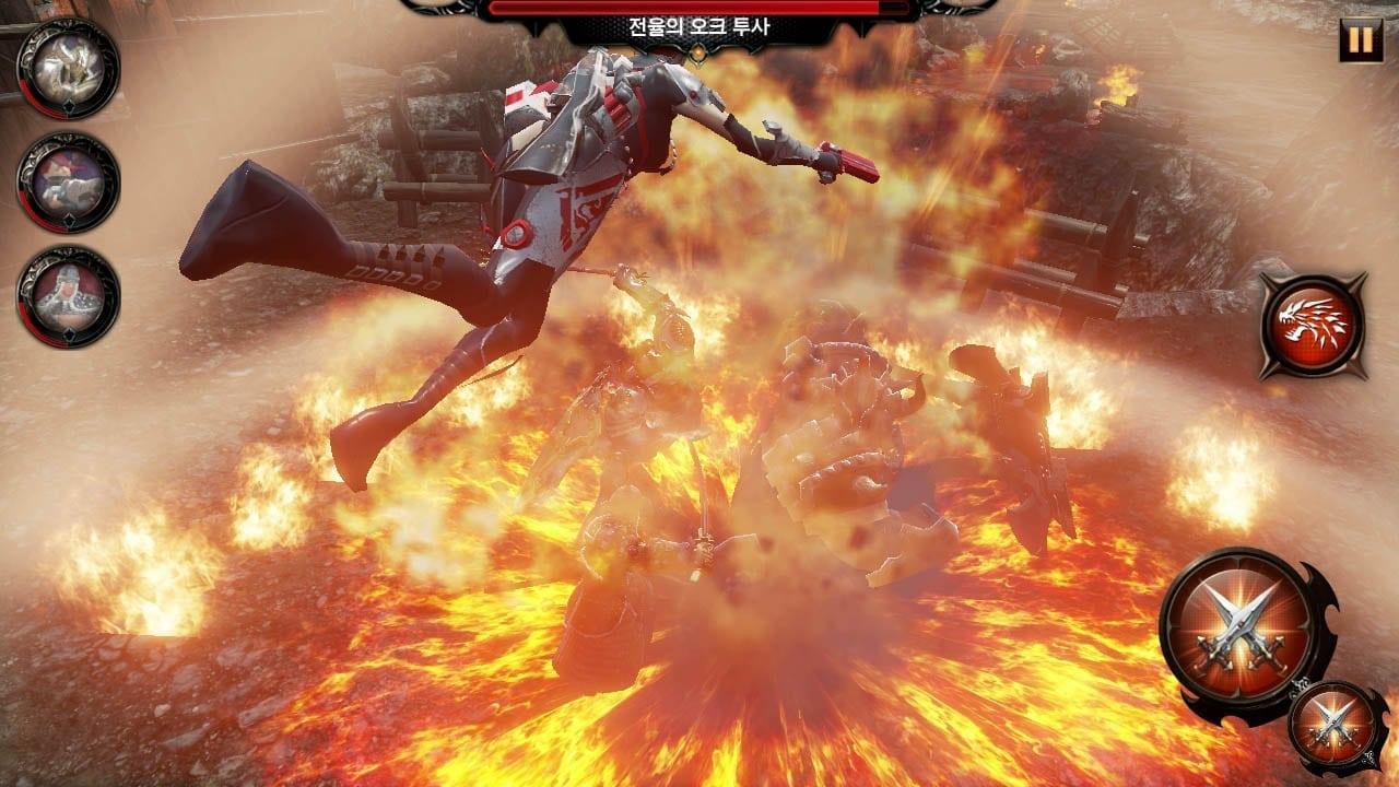 Heroes Genesis - Combat screenshot 3
