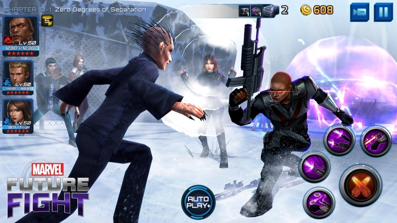Marvel Future Fight - Agents of Shield update screenshot 1