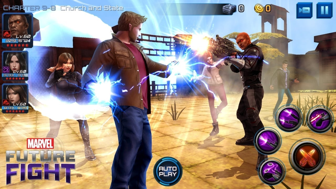 Marvel Future Fight - Agents of Shield update screenshot 2