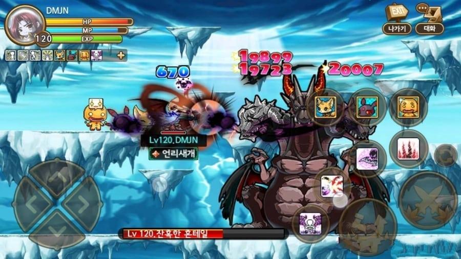 Pocket MapleStory Korea screenshot 1