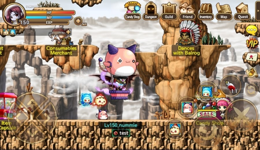 Pocket MapleStory Sea screenshot 1