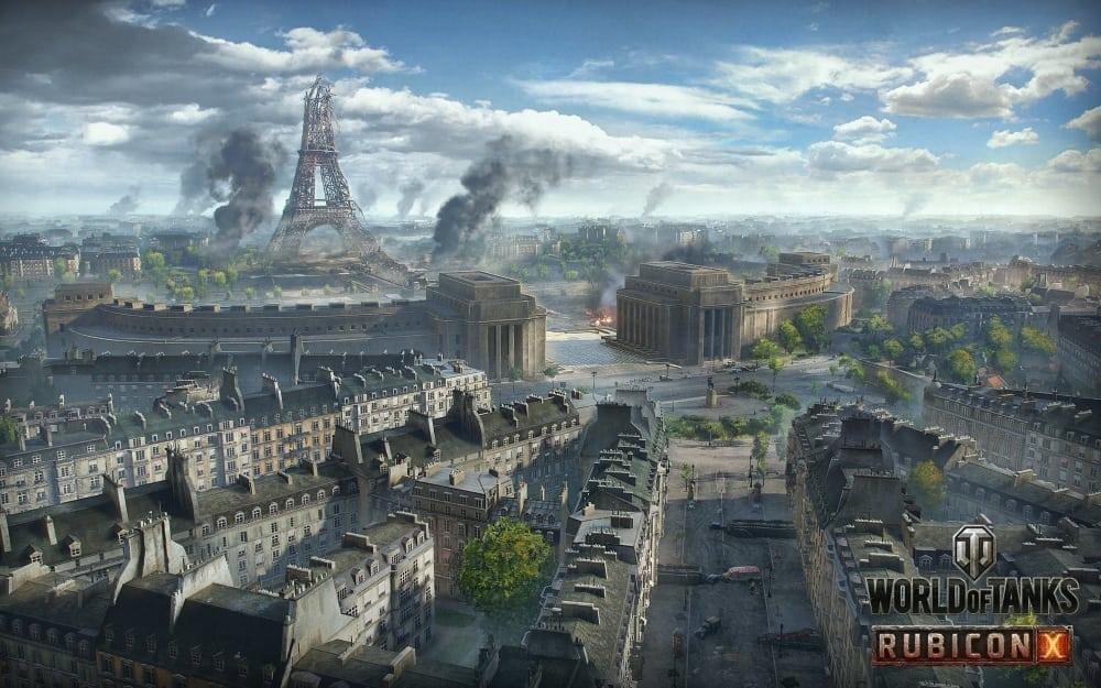 World of Tanks - Paris artwork