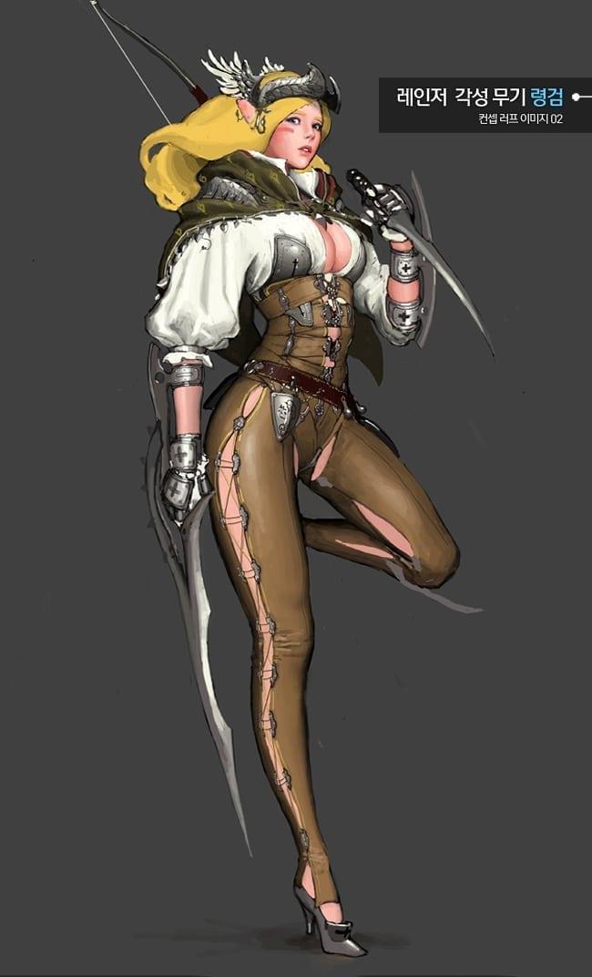 Black Desert - Ranger awakening artwork 2