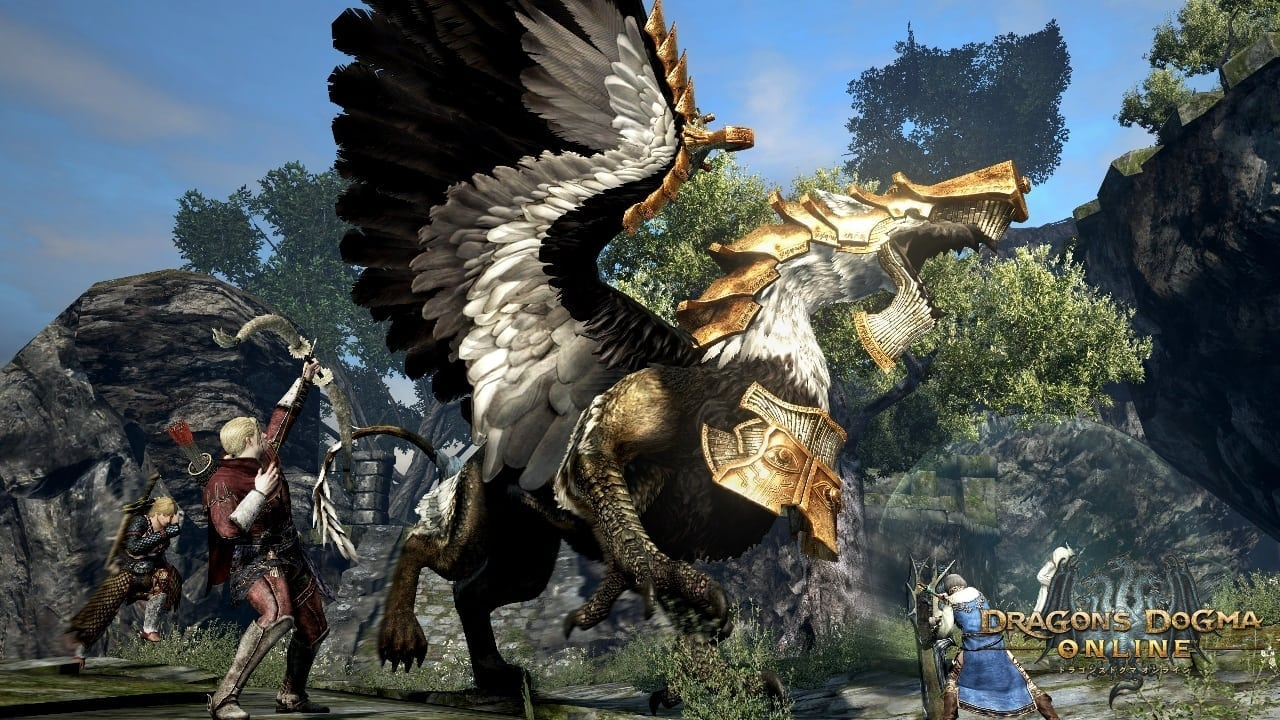 Dragon's Dogma Online - Alchemized Griffin