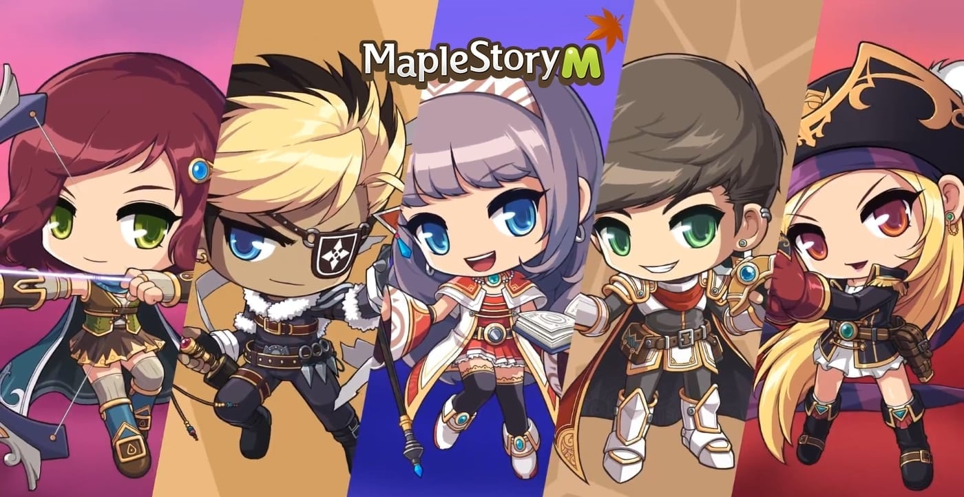 MapleStory Mobile - 5 starting classes