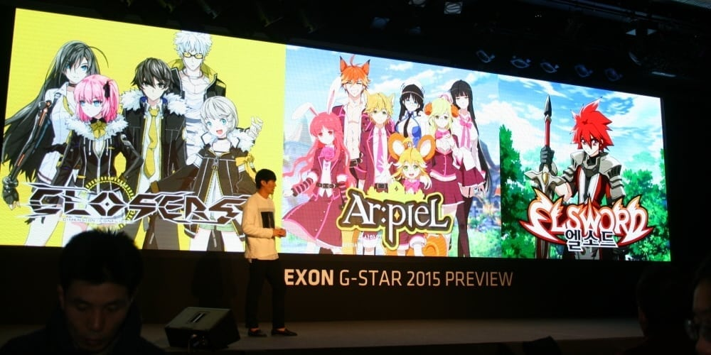 Nexon G-Star 2015 anime series