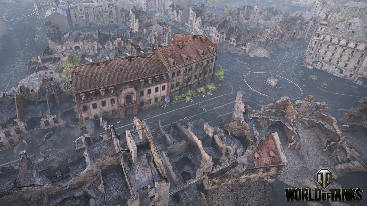 World of Tanks - Berlin map screenshot 1