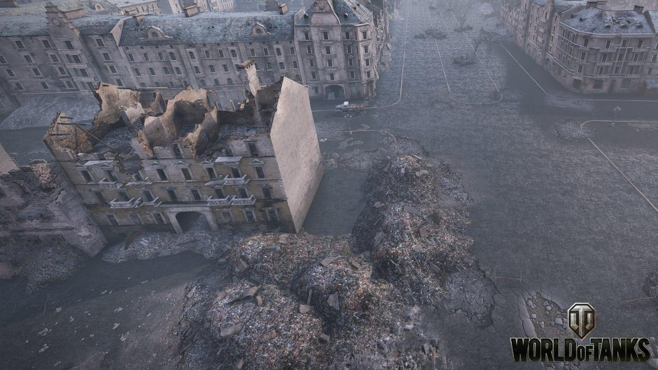 World of Tanks - Berlin map screenshot 2