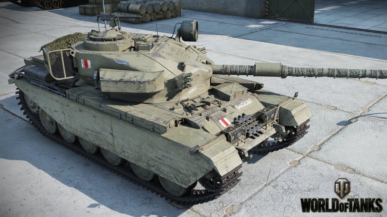 World of Tanks - Centurion Action X