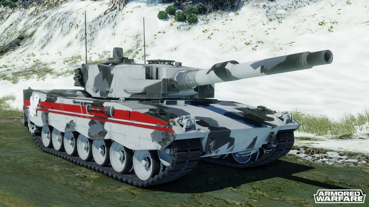 Armored Warfare ICE vehicle