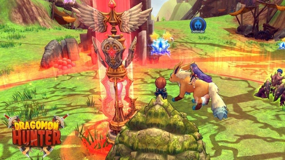 Dragomon Hunter - PVP update 1