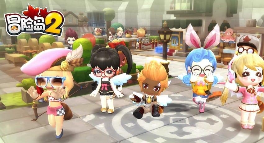 MapleStory China screenshot