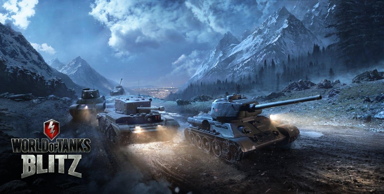 World of Tanks Blitz - Windows 10 launch image