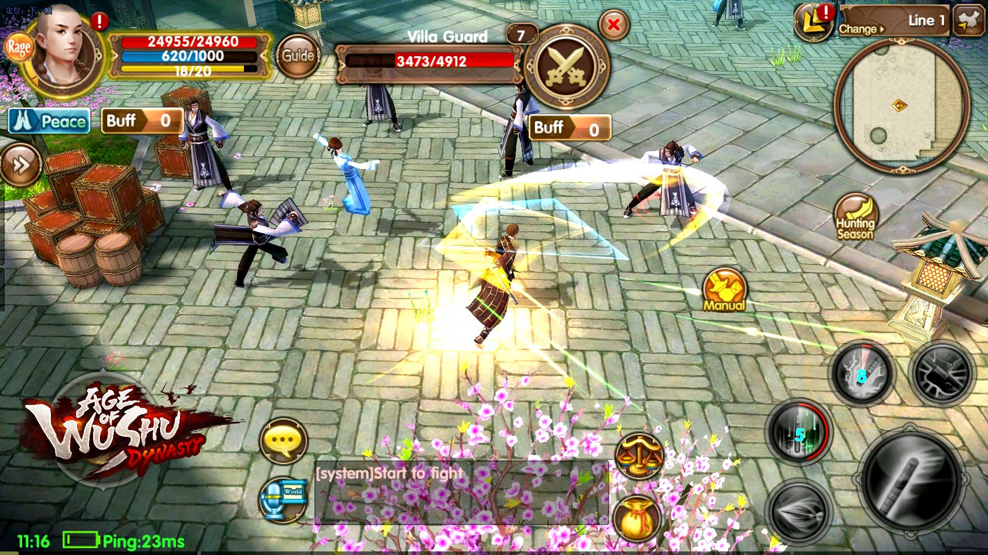 Age of Wushu Dynasty screenshot 1