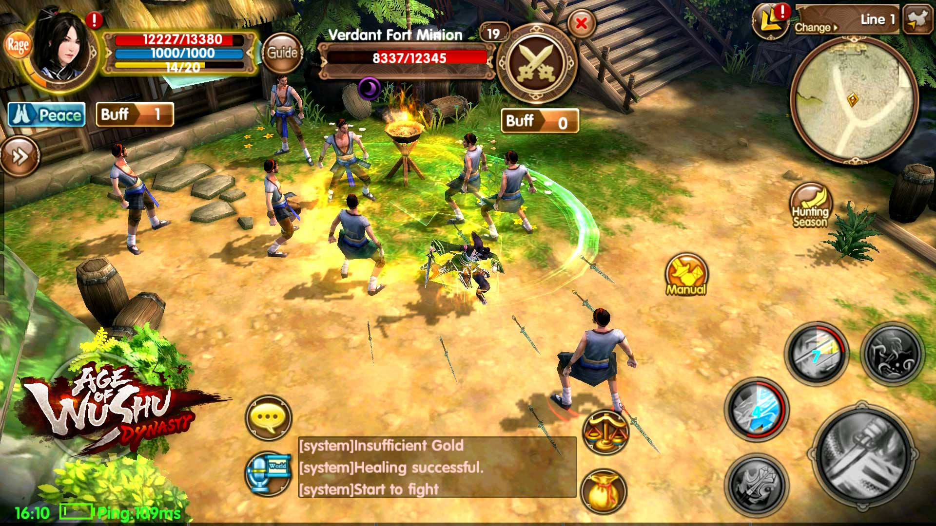 Age of Wushu Dynasty screenshot 2