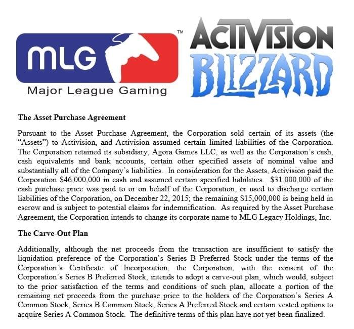 Blizzard buys MLG