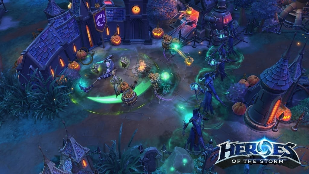 Heroes of the Storm - Necromancer screenshot 2