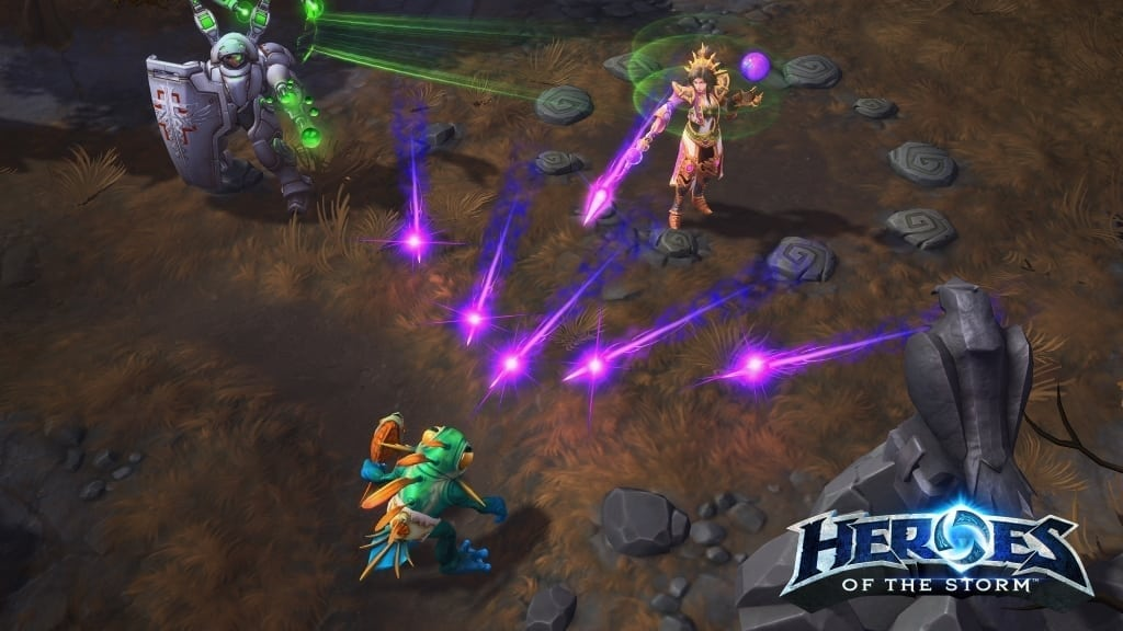 Heroes of the Storm - Wizard screenshot 2