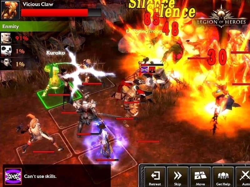 Legion of Heroes screenshot