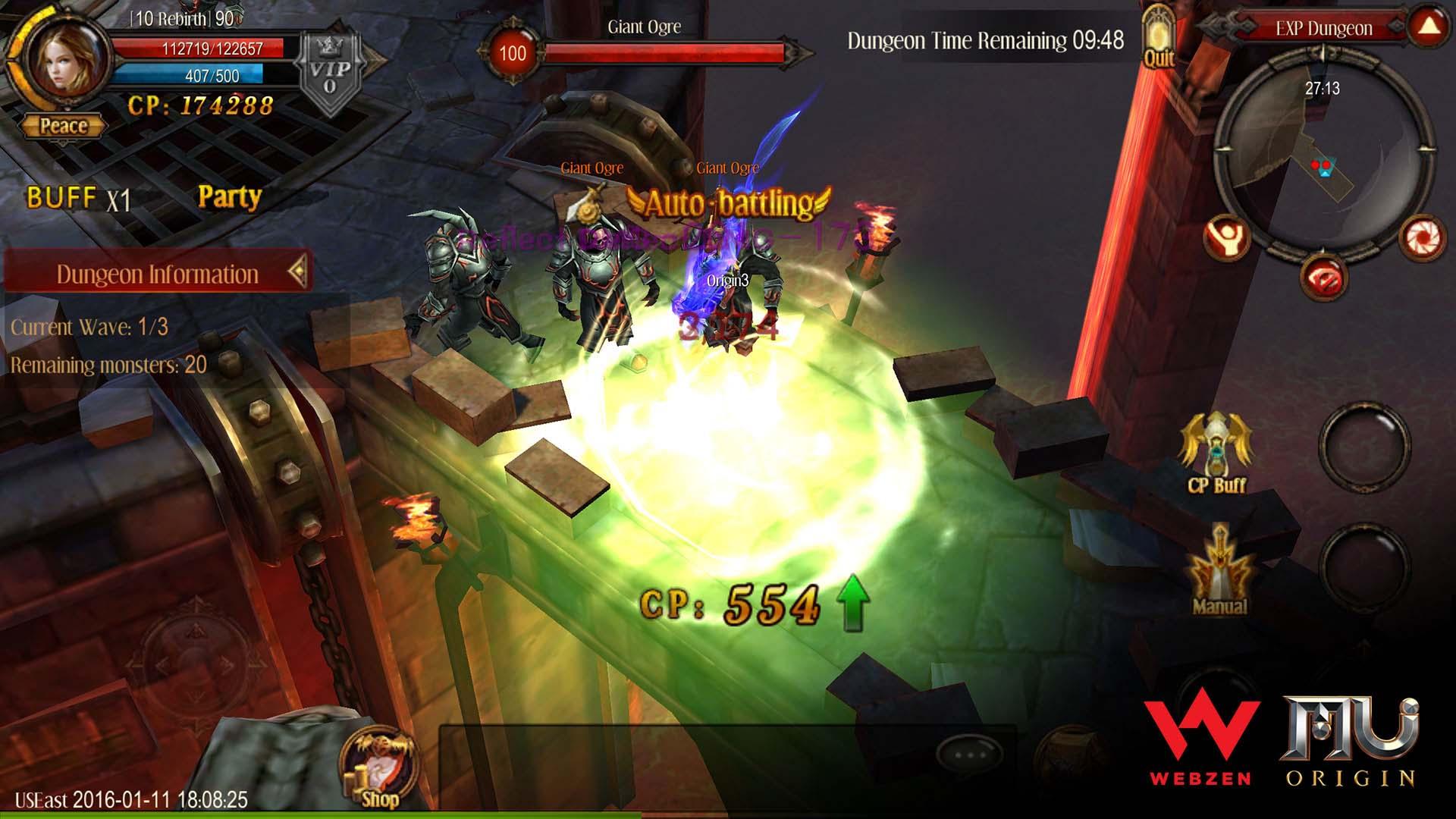 MU Origin screenshot 4