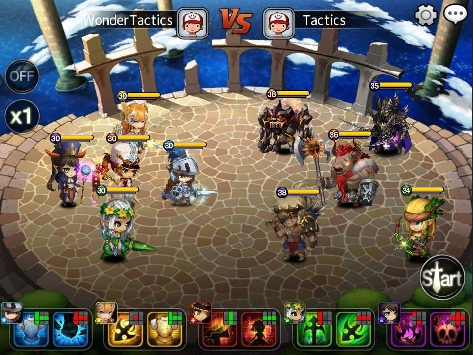 Wonder Tactics screenshot