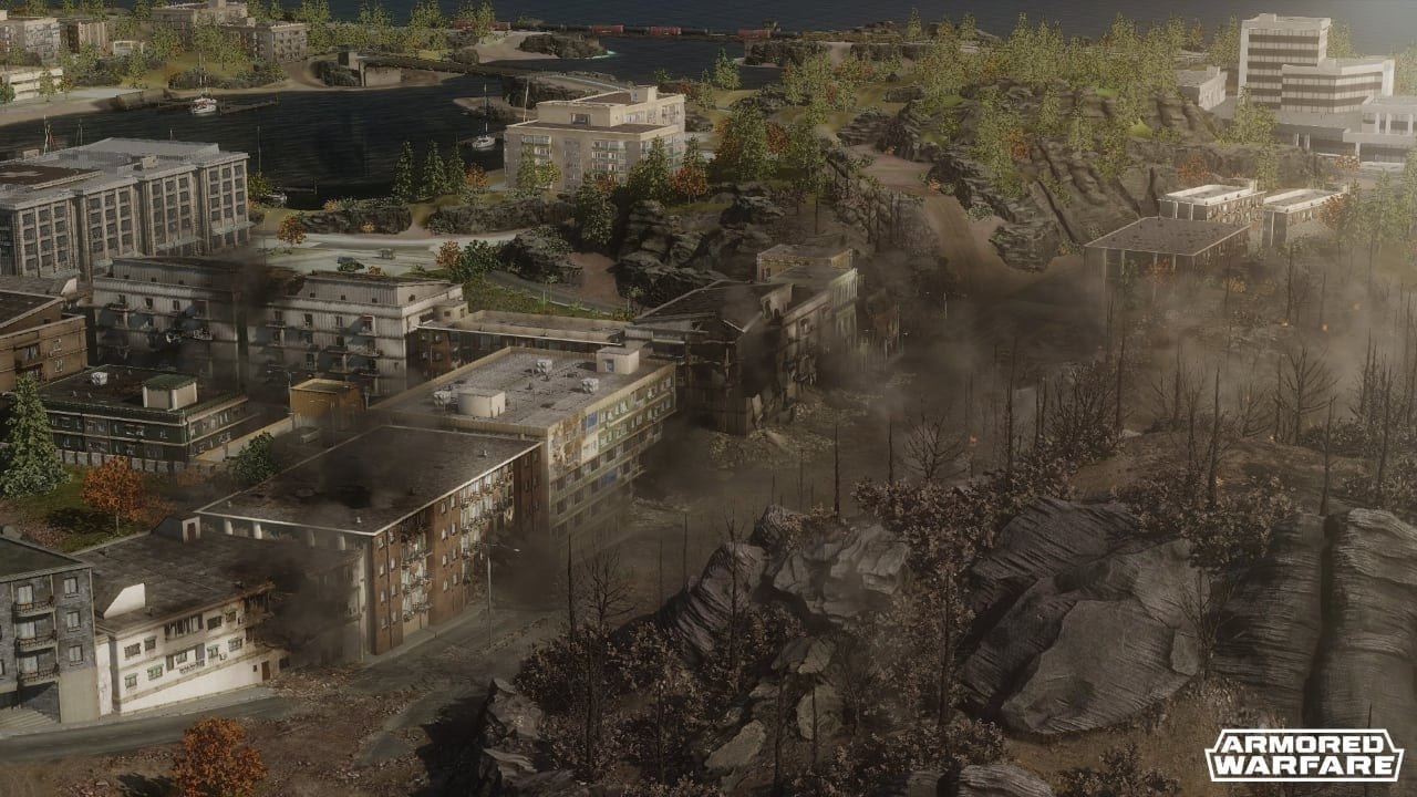 Armored Warfare - Coastal Threat map screenshot 2