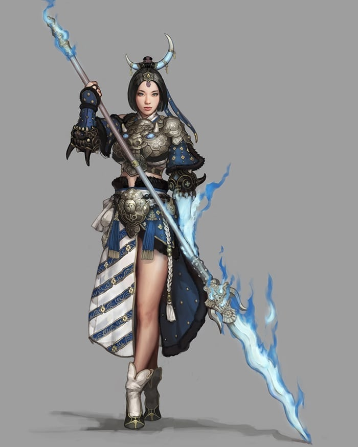 Black Desert - Female Blader awakening 2